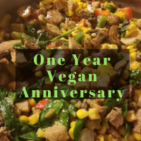 1 Year Vegan Anniversary