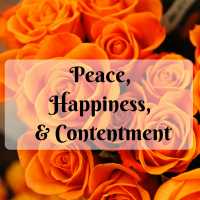 Peace, Happiness & Contentment: What does it really mean to be content?